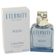 Eternity Aqua by Calvin Klein - Eau De Toilette Spray 100 ml f. herra