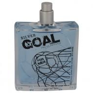 Golden Goal Silver by Jeanne Arthes - Eau De Toilette Spray (Tester) 100 ml f. herra