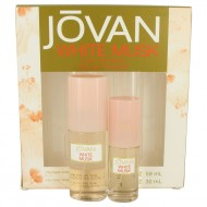JOVAN WHITE MUSK by Jovan - Gjafasett - 2 oz Cologne Spray + 1 oz Cologne Spray f. dömur