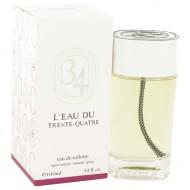 L'eau Du Trente-Quatre by Diptyque - Eau De Toilette Spray (Unisex) 100 ml f. dömur