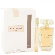 Le Parfum Elie Saab by Elie Saab - Gjafasett -- 3 oz Eau De Toilette Spray + .33 oz Mini EDT Spray f. dömur