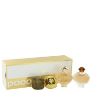 Lady Million by Paco Rabanne - Gjafasett -- Travel Size Mini Set Includes Lady Million, Lady Million Prive, Olympea, Olympea Intense f. dömur