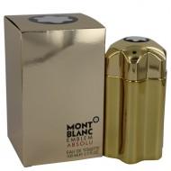 Montblanc Emblem Absolu by Mont Blanc - Eau De Toilette Spray 100 ml f. herra