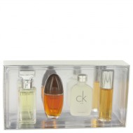 OBSESSION by Calvin Klein - Gjafasett -- Mini Variety Gjafasett Includes Eternity, Obsession Ck One, Escape, All 1/2 oz Sprays Except CK One is a Splash f. dömur