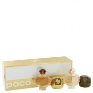 Olympea by Paco Rabanne - Gjafasett -- Travel Size Mini Set Includes Lady Million, Lady Million Prive, Olympea, Olympea Intense f. dömur