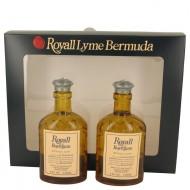 Royall Bay Rhum by Royall Fragrances - Gjafasett -- Two 4 oz All Purpose Lotion / Cologne Splash Includes 2 Spray Pumps f. herra